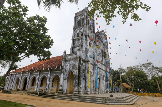 Despite being one of Vietnams oldest Catholic structures, this gothic beauty remains little known to tourists.