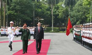 Vietnam, South Korea to strengthen military ties