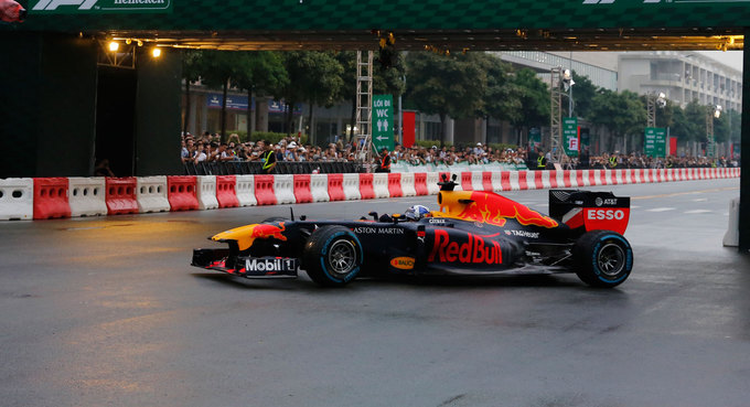 Formula One excited by Vietnam possibilities, says chief executive