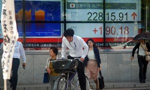 Asian markets mostly up as world rally extends, eyes on G7