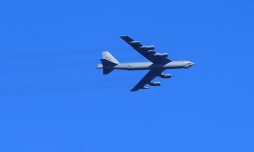 China says not scared after reported US bomber trip over South China Sea