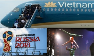 Weekly roundup: World Cup anxiety, Vietnam Airlines wages, Giang brothers and more