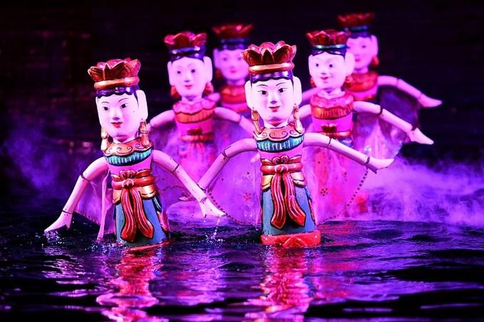 Tourism keeps Vietnam's ancient water puppets afloat
