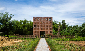 Vietnamese brick house bags coveted architecture award