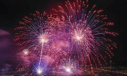 Portuguese, Swedish fireworks light up Vietnam sky
