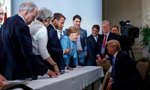 In bombshell, Trump says US backs out of G7 communique, criticizes Trudeau