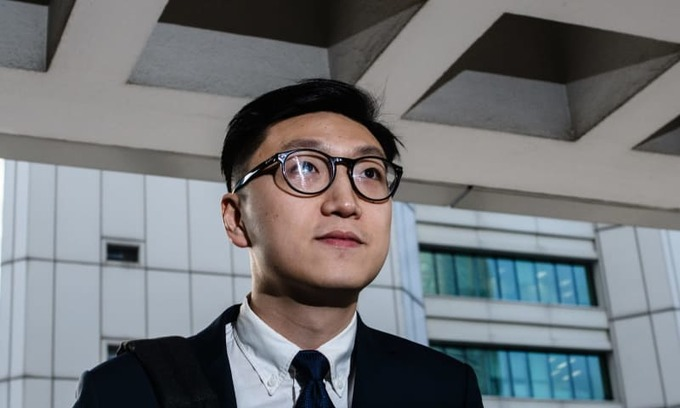 Hong Kong jails top independence leader for six years