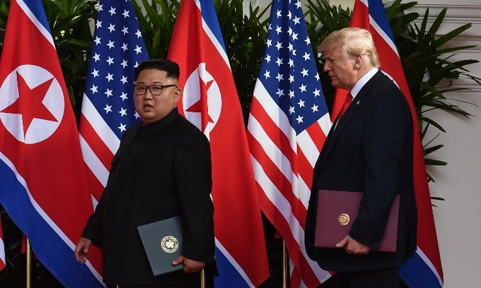 Trump, Kim sign agreement on denuclearization, security of N Korea