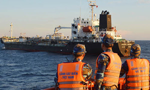 Two foreign ships fined for smuggling diesel off Vietnam coast, fuel seized