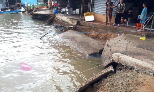 Households evacuated in Vietnam's Mekong Delta amid rising erosion risk