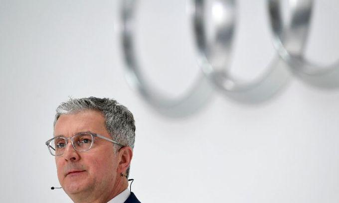 Audi boss arrested in diesel probe