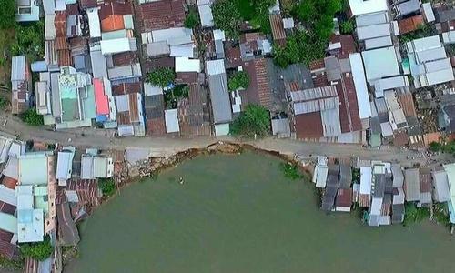 Land erosion a man made disaster in Vietnam's Mekong Delta
