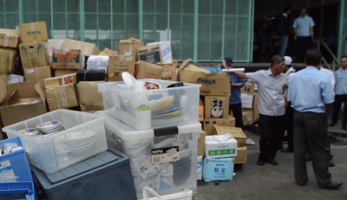 Vietnam getting thrown on the scrap heap