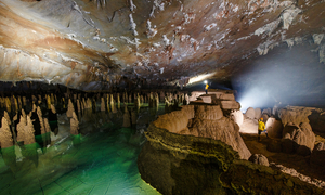 The magnificent Kingdom of Caves in Vietnam
