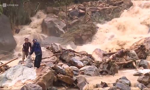 Flash floods ravage northern Vietnam