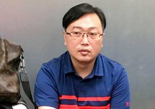 Du Rong Ming, 46, was detained on June 24 upon landing at Da Nang International Airport in Vietnam. Photo via Vietnam Police