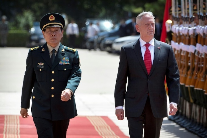 Xi refuses to budge on South China Sea in talks with US defense chief