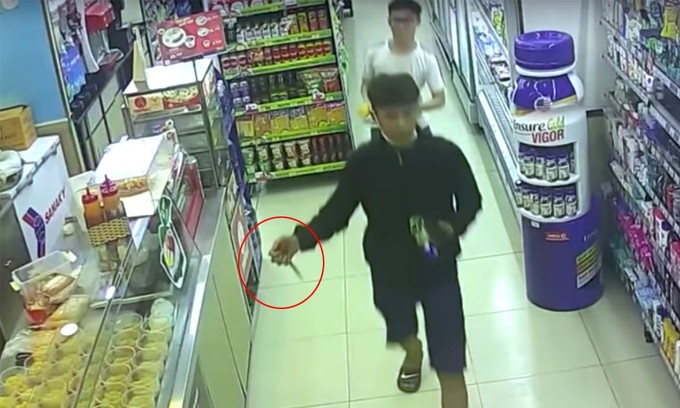Convenience stores easy pickings for robber gangs in Saigon
