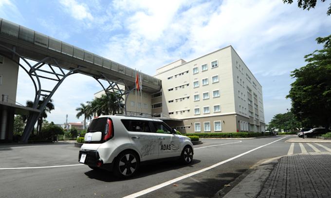 Vietnam's first driver-less car gets the green light