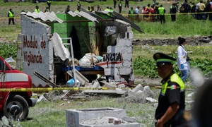 Fireworks explosions kill 24 in central Mexico