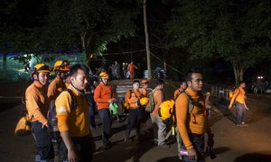 Ex-Navy Seal dies in Thai cave rescue: official