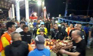 21 dead, many more bodies seen inside sunken Thai tourist boat