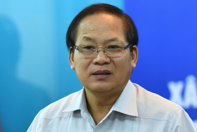 Incumbant Minister of Information and Communication Truong Minh Tuan. Photo by VnExpress/Giang Huy