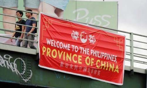 'Philippines, Province of China' signs stir anger on anniversary of arbitration win