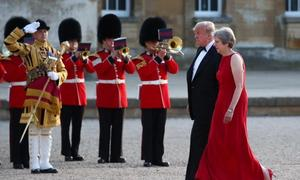 Trump says May's Brexit plan kills hope of a US trade deal