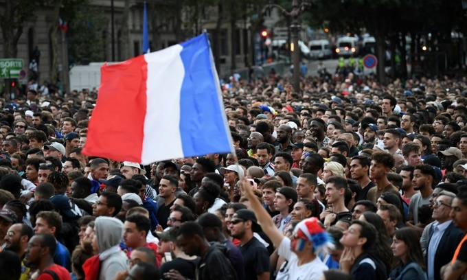 France holds breath as football brings nation together