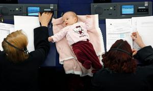 Highchairs and cuddles: How parliaments are catering for lawmaker mums