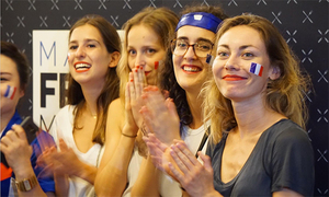 France fans in Hanoi overjoyed as country wins 2018 World Cup