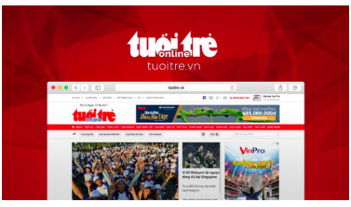 Major online newspaper suspended for three months in Vietnam