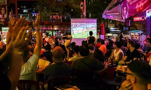 Vietnamese netizens go ape over World Cup