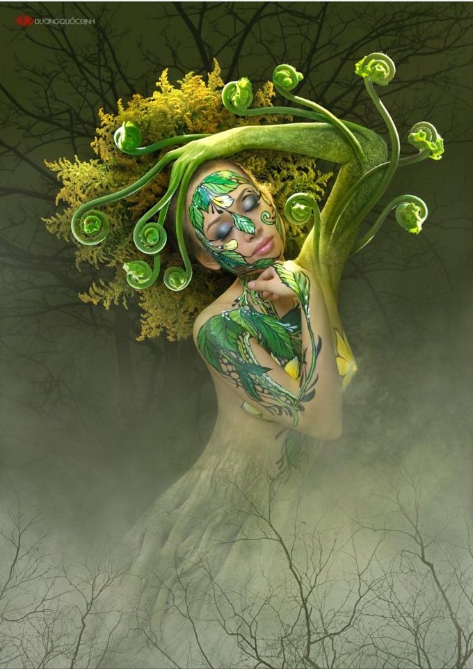 Su chuyen hoa (Metamorphosis) by Duong Quoc Dinh.