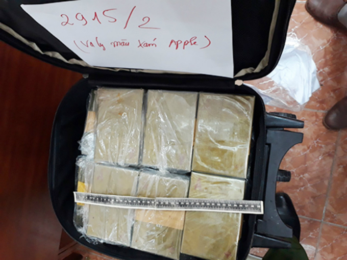 A large quantity of heroin are seized during a crackdown against Hieus drug trafficking ring.