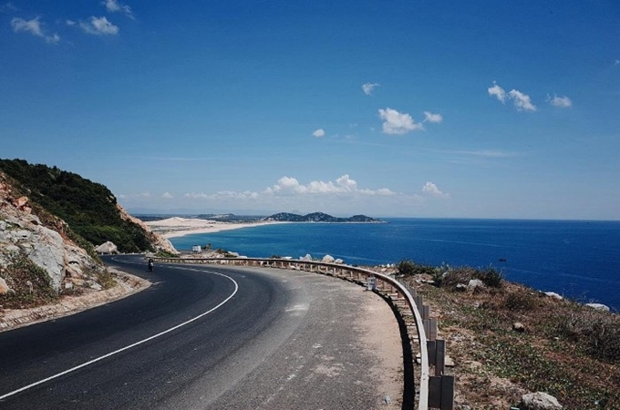 The route from Nha Trang to Quy Nhon is one of the most spectacular road in Asia