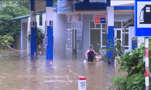 Flash floods leave northern Vietnamese high and dry