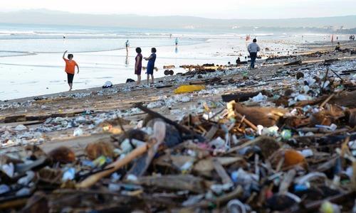 Trash heroes and scavenger apps battle Bali 'garbage emergency'
