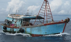 Indonesia frees 42 Vietnamese detained for illegal fishing