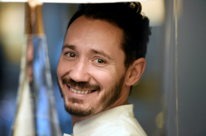 Cedric Grolet was named the worlds best pastry chef on The Worlds 50 Best Restaurants list. Photo by AFP