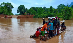 Rescuers arrive for 3,000 stranded after Laos dam collapse: media