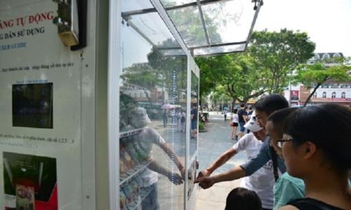Hanoi to go modern, install 1,000 public vending machines