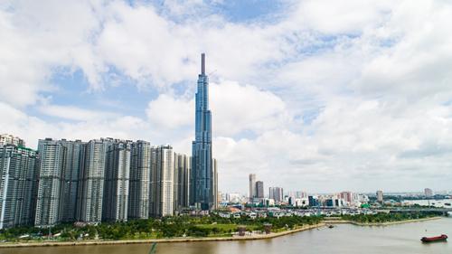 Vietnam's tallest Landmark opens for business