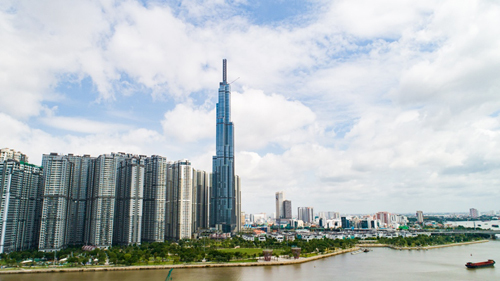 Vietnam's tallest Landmark opens for business
