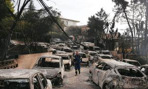 'Serious' signs arson started deadly Greek wildfire