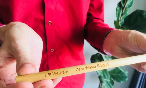 An expat couple launches straw wars in Vietnam
