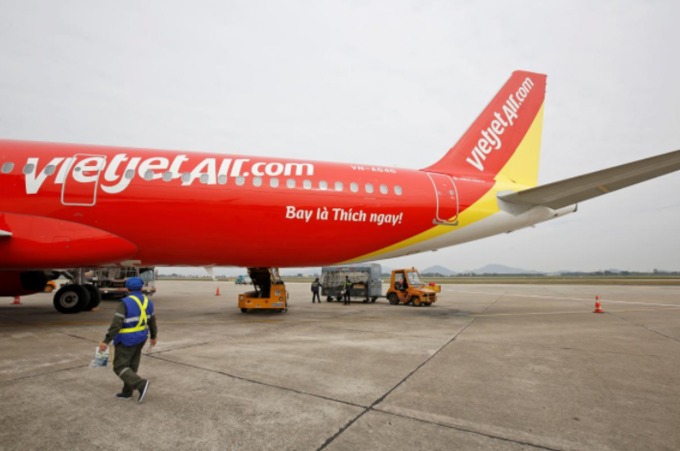International flights boost Vietjet Air's Q2 profit