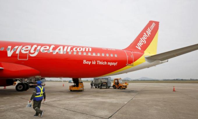 International flights boost Vietjet Air's Q2 profit