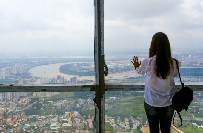 Saigons bird eye view from the tallest building in Vietnam - 3